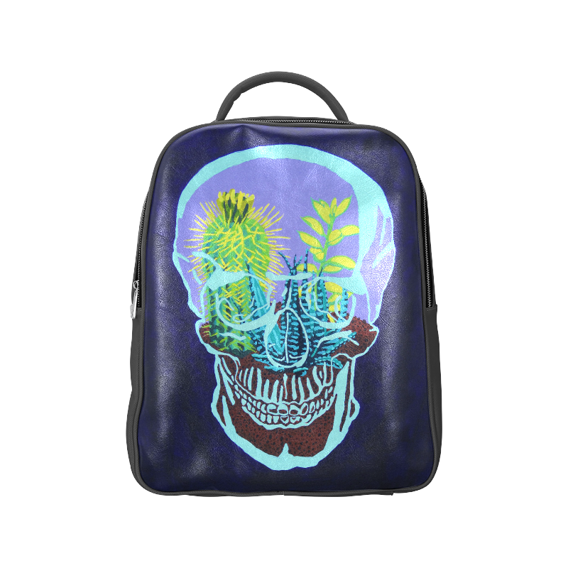 Skull Terrarium Popular Backpack (Model 1622)
