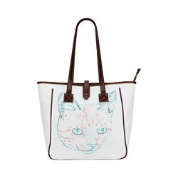 Tabby Kitten Classic Tote Bag (Model 1644)