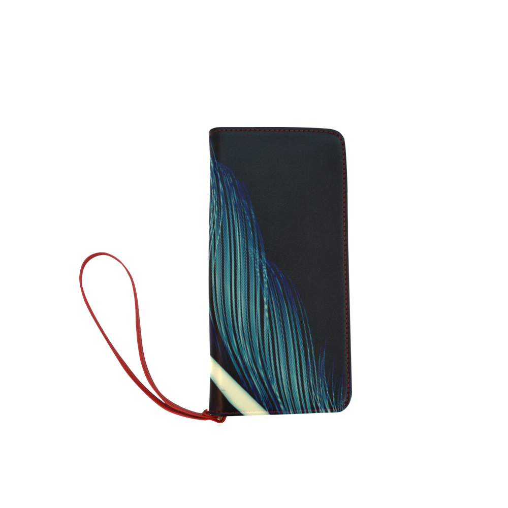Feather Women's Clutch Wallet (Model 1637)