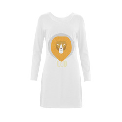 LEO nightshirt Demeter Long Sleeve Nightdress (Model D03)