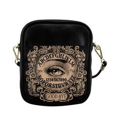 witchboardwitheyebeige Sling Bag (Model 1627)