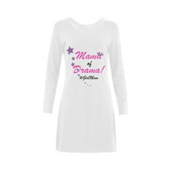 Mama of Drama nightshirt Demeter Long Sleeve Nightdress (Model D03)