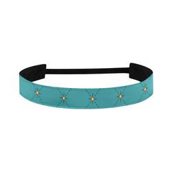Tuft Turquoise Headband Sports Headband