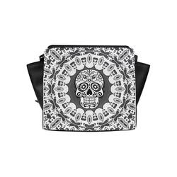 funny Mandala Skull by JamColors Satchel Bag (Model 1635)