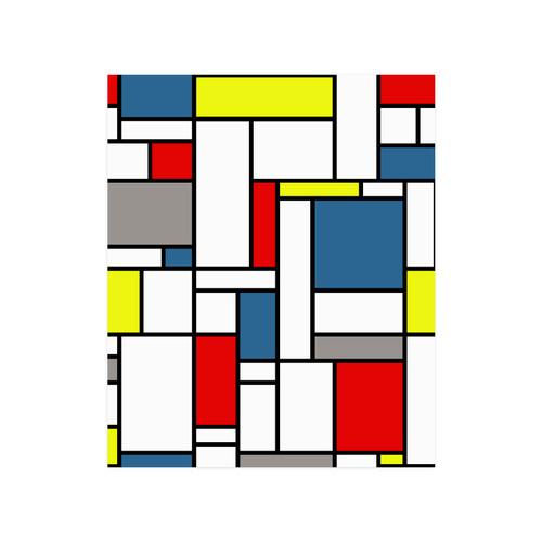 "Mondrian style design Poster 20""x24"""