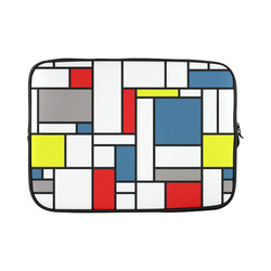 Mondrian style design Custom Laptop Sleeve 15''