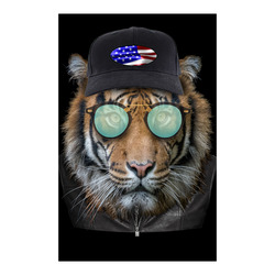 "Dressed up Bengal Tiger Poster 23""x36"""