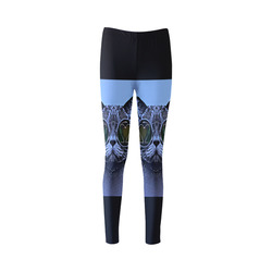 CATS BLUE Cassandra Women's Leggings (Model L01)