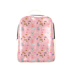 Kittens and Puppies - Pastel Pink Popular Backpack (Model 1622)
