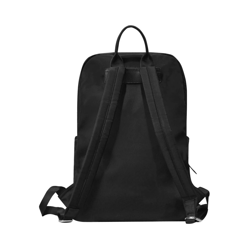 TIGER ART Unisex Slim Backpack (Model 1664)