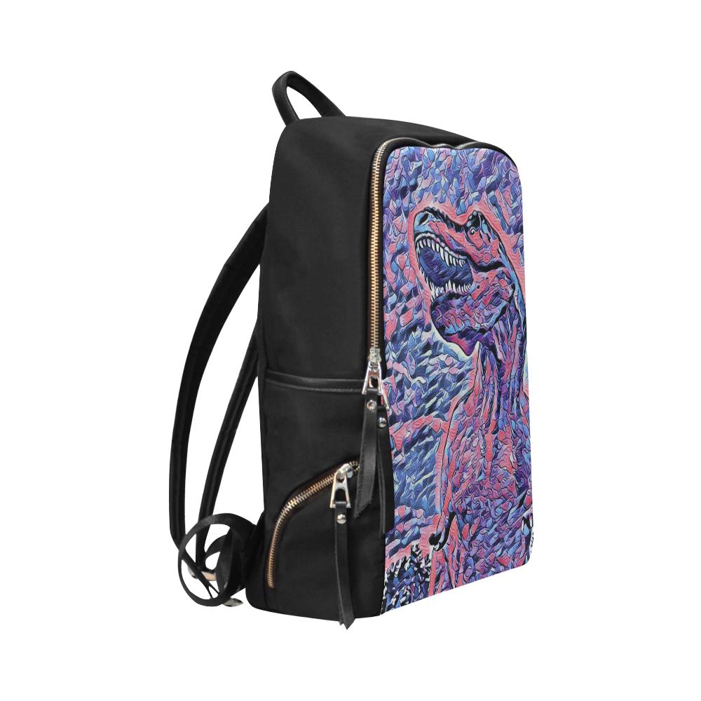 DINO DINOSAUR Unisex Slim Backpack (Model 1664)