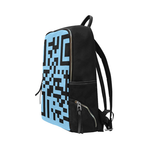 QR CODE Unisex Slim Backpack (Model 1664)