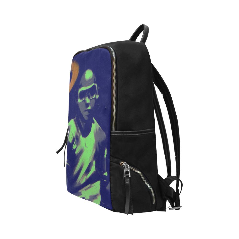 GRAFFITI BOY Unisex Slim Backpack (Model 1664)