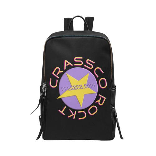 CRASSCO ROCKT Unisex Slim Backpack (Model 1664)