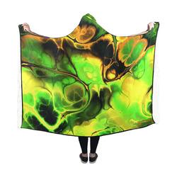 gorgeous Fractal 173 Hooded Blanket 60''x50''