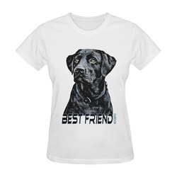 LABRADOR DOG BEST FRIEND Sunny Women's T-shirt (Model T05)