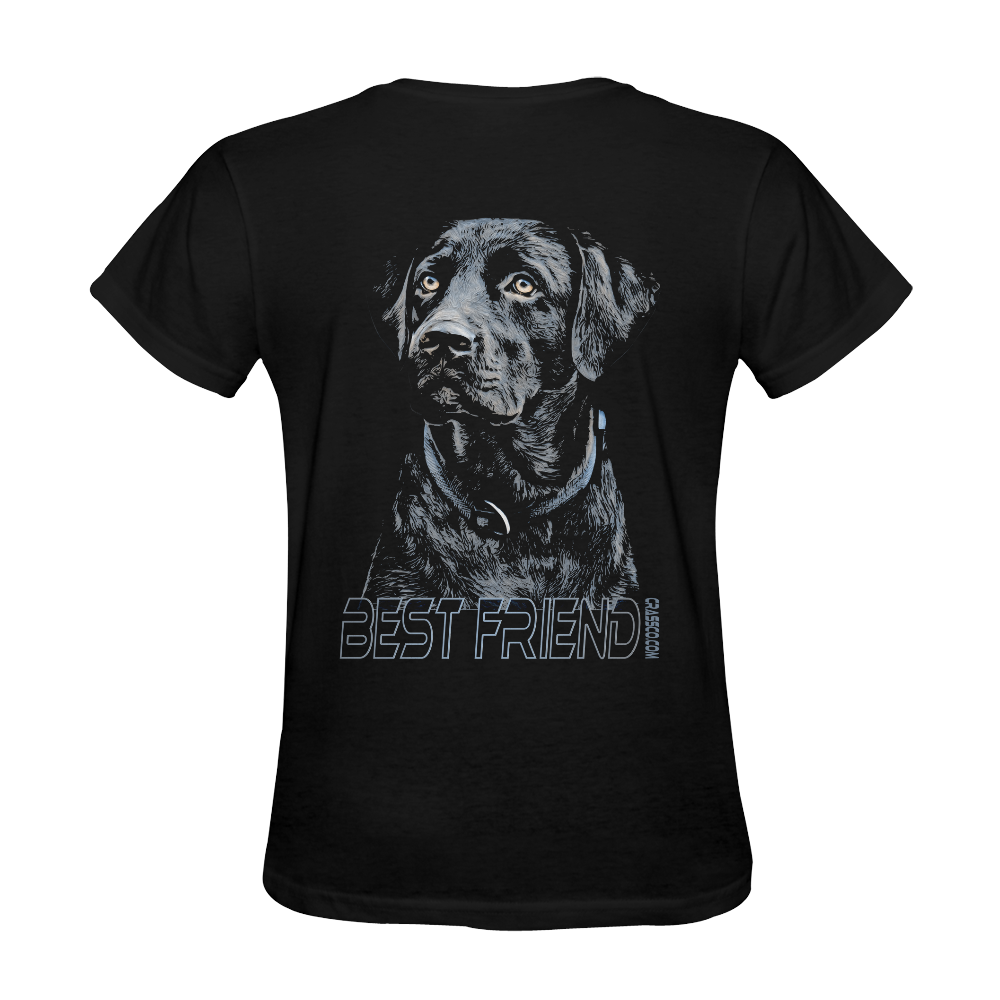LABRADOR DOG BEST FRIEND III Sunny Women's T-shirt (Model T05)