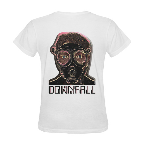 MASK INFERNO DOWNFALL III Sunny Women's T-shirt (Model T05)