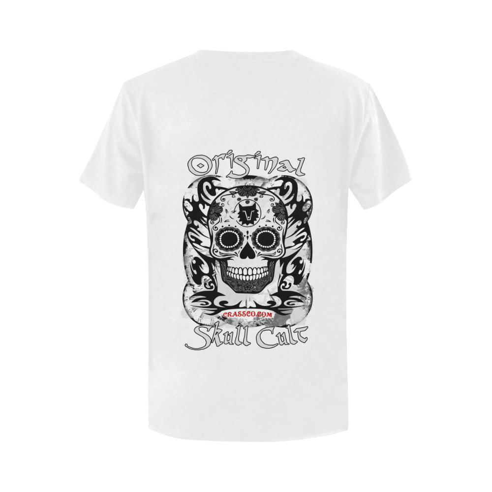 ORIGINAL SKULL CULT II Women's T-Shirt in USA Size (Two Sides Printing)
