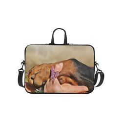 "Dog Mans Best Friend Laptop Handbags 10"""