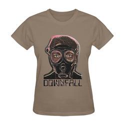MASK INFERNO DOWNFALL II Sunny Women's T-shirt (Model T05)