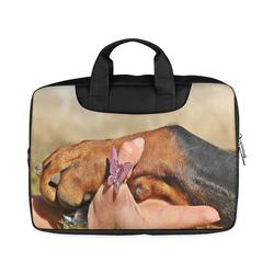 """Dog Mans Best Friend Macbook Air 15""""(Two sides)"""