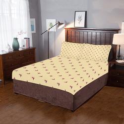 FAIRY FLIES YELLOW 3-Piece Bedding Set