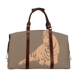 SLEEPING TIGER Classic Travel Bag (Model 1643) Remake