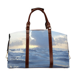 ON THE OCEAN WAVES Classic Travel Bag (Model 1643) Remake