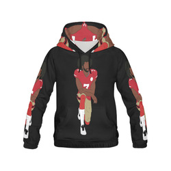 Kaep All Over Print Hoodie for Women (USA Size) (Model H13)