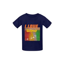 kids slime Kid's  Classic T-shirt (Model T22)