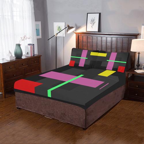 GEOMETRY DELUXE 3-Piece Bedding Set