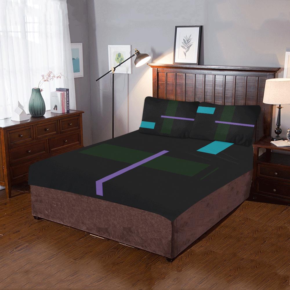 GEOMETRY DELUXE II 3-Piece Bedding Set