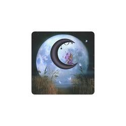 Wonderful fairy on the moon Square Coaster