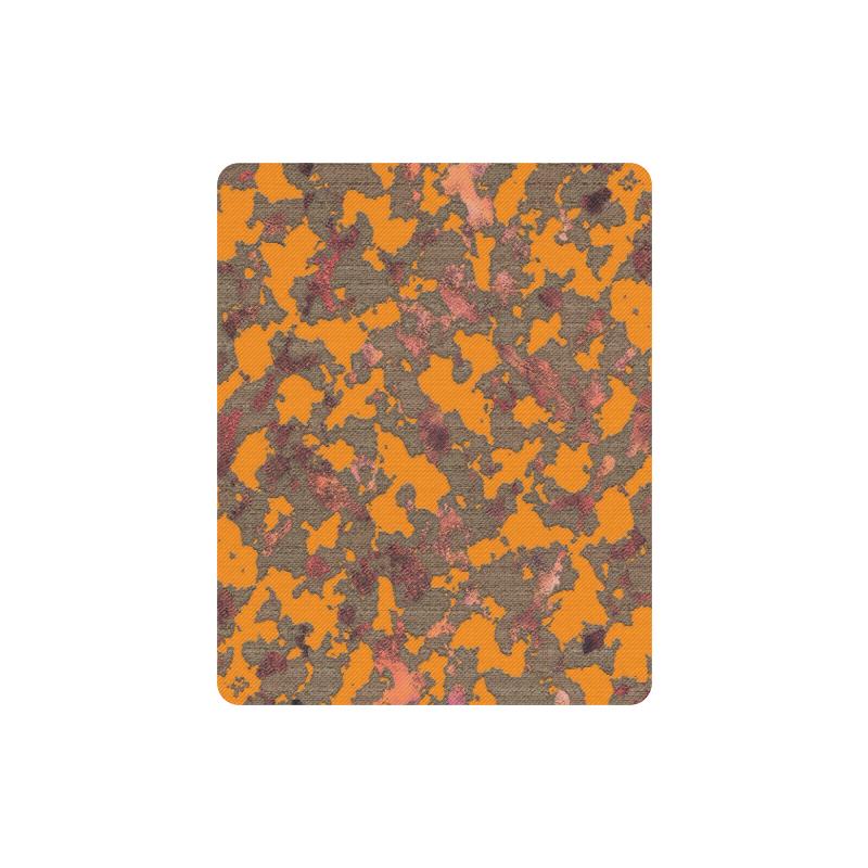 CAMOUFLAGE ORANGE MOUSEPAD Rectangle Mousepad