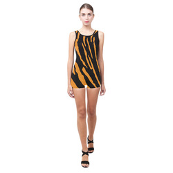 Tiger Stripes Classic One Piece Swimwear (Model S03)