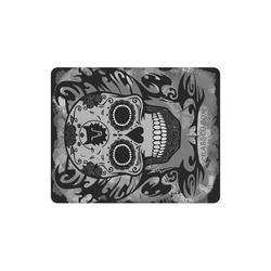 SKULL CRASSCO GREY MOUSEPAD Rectangle Mousepad