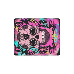 SKULL CRASSCO PINK MOUSEPAD Rectangle Mousepad
