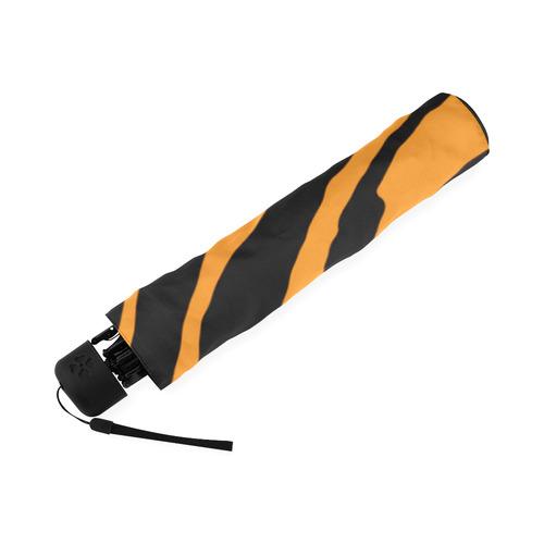 Tiger Stripes Foldable Umbrella (Model U01)