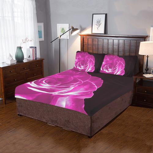 Colours Rose Q 3-Piece Bedding Set