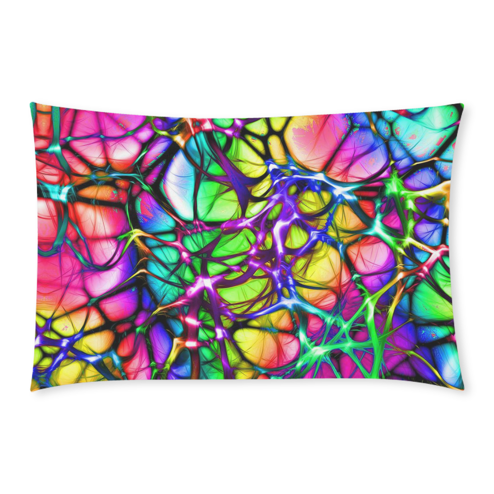 alive 5 (abstract) by JamColors 3-Piece Bedding Set