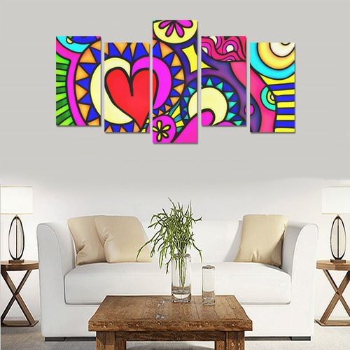Looking for Love Canvas Print Sets E (No Frame)