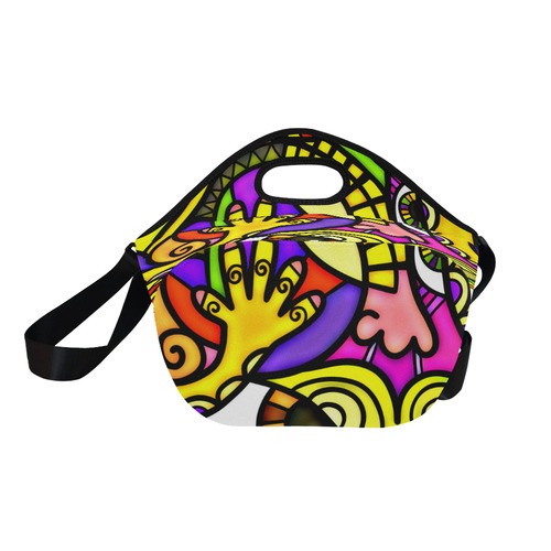 Lonely Without You Neoprene Lunch Bag/Large (Model 1669)