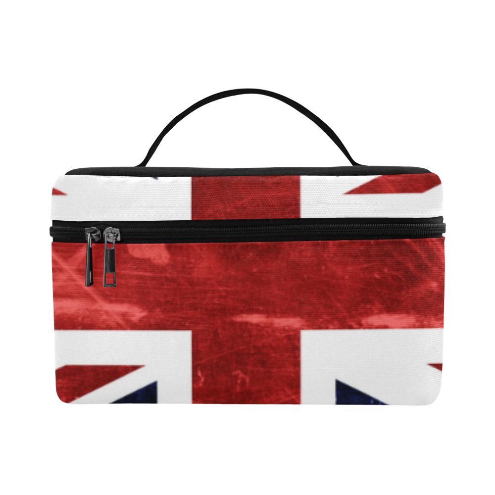 Grunge Union Jack Flag Lunch Bag/Large (Model 1658)