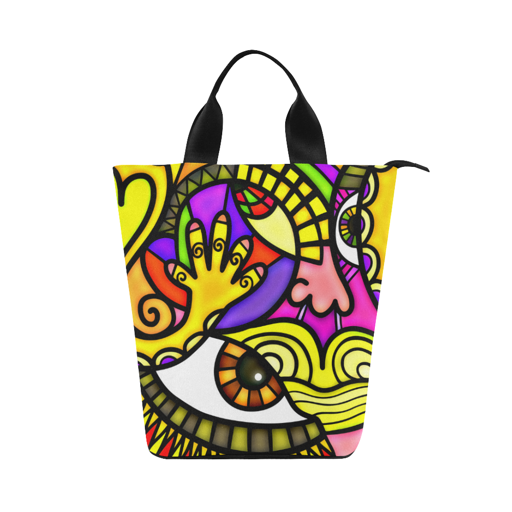 Lonely Without You Nylon Lunch Tote Bag (Model 1670)