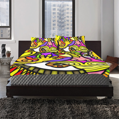 Lonely Without You 3-Piece Bedding Set