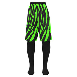 Green Tiger Stripes Men's Swim Trunk (Model L21)