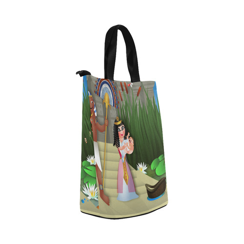 Baby Moses & the Egyptian Princess Nylon Lunch Tote Bag (Model 1670)