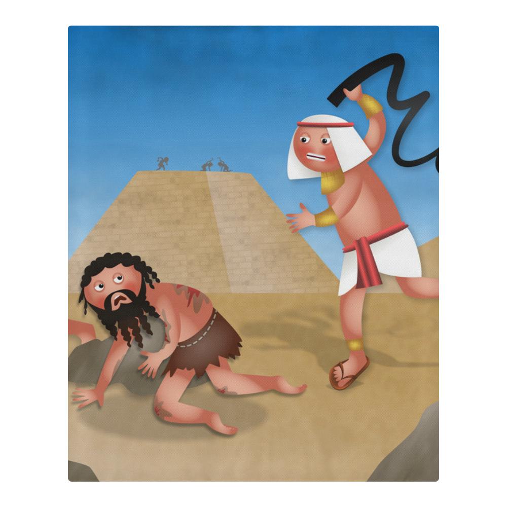 Jewish Slaves in Egypt 3-Piece Bedding Set