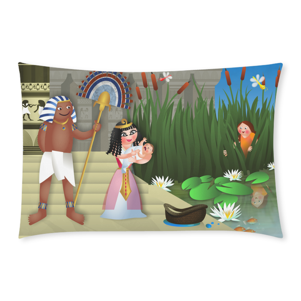 Baby Moses & the Egyptian Princess 3-Piece Bedding Set
